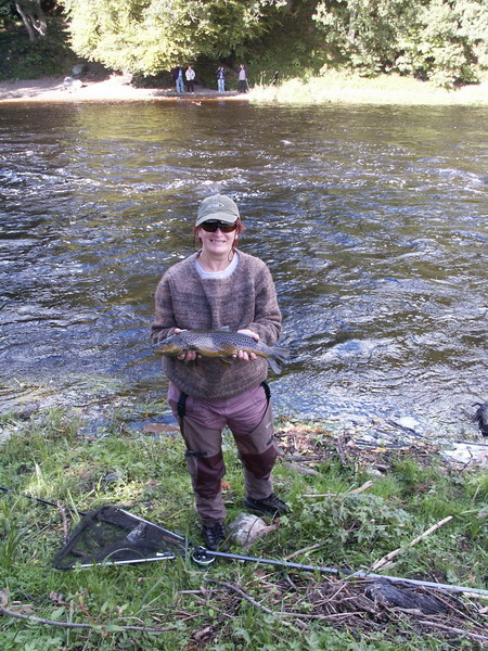 spey casting tuition in dumfries and galloway